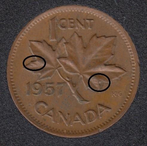 1957 - Dot - Canada Cent