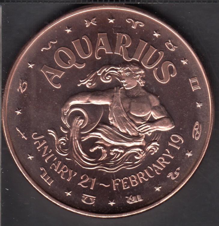 Aquarius  - 1 oz .999 Fine Copper