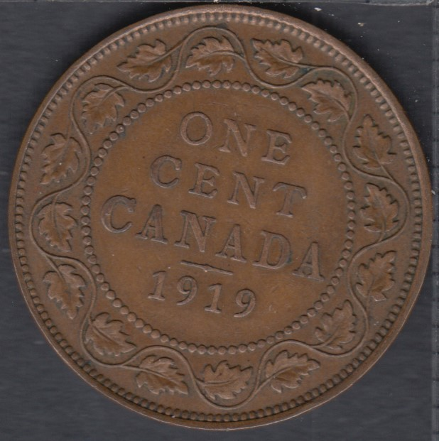 1919 - VF - Canada Large Cent