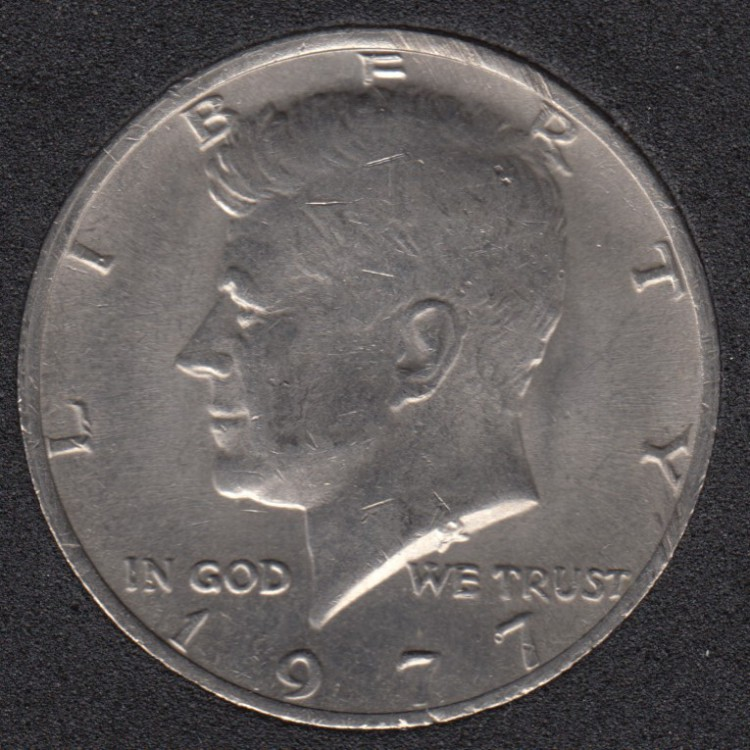 1977 - Kennedy - 50 Cents