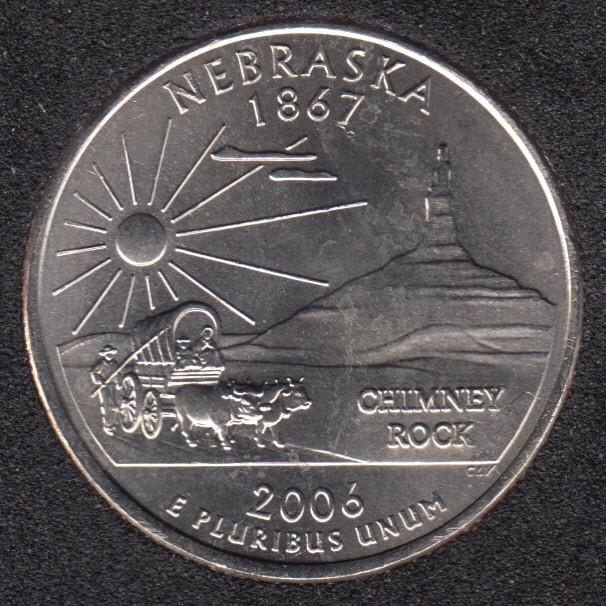 2006 P - B.Unc - Nebraska - 25 Cents