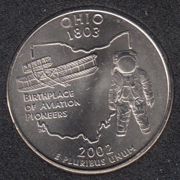 2002 P - Ohio - 25 Cents