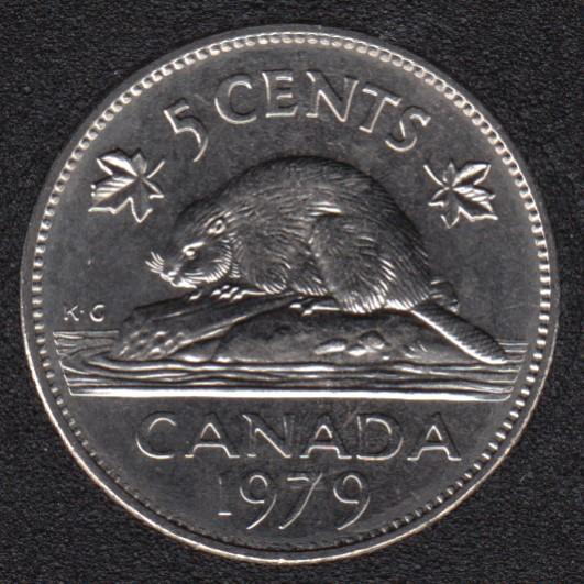 1979 - B.Unc - Canada 5 Cents