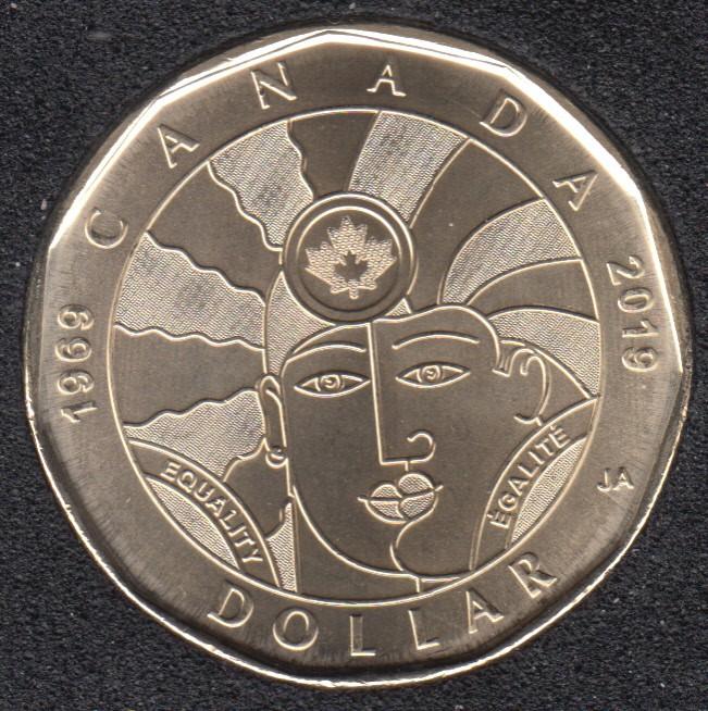2019 - B.Unc - Equality - Canada Dollar