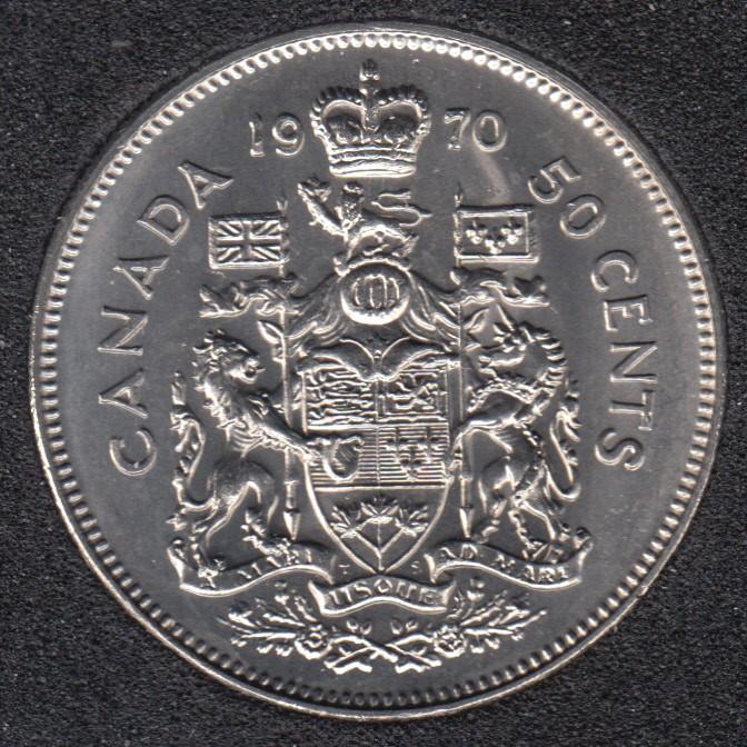1970 - B.Unc - Canada 50 Cents