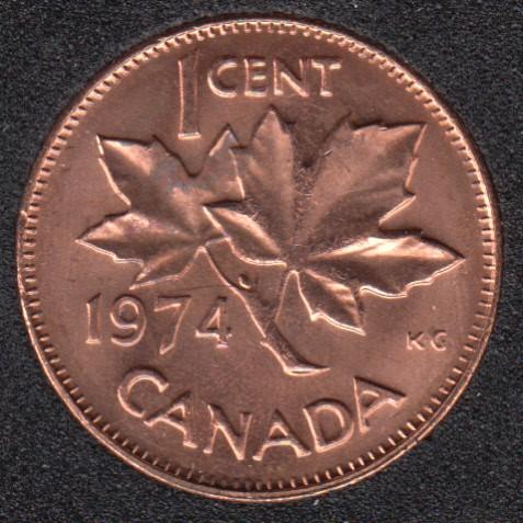 1974 - B.Unc - Canada Cent