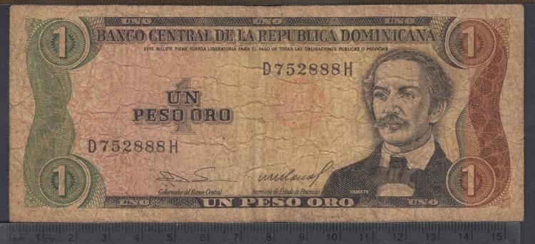 1984 - 1 Peso Oro - Republique dominicaine