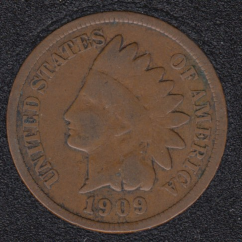1909 - Indian Head Small Cent