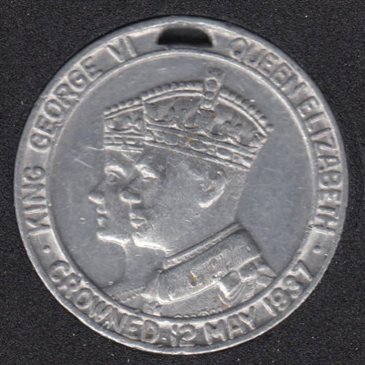 1937 - Coronation George VI - Elisabeth