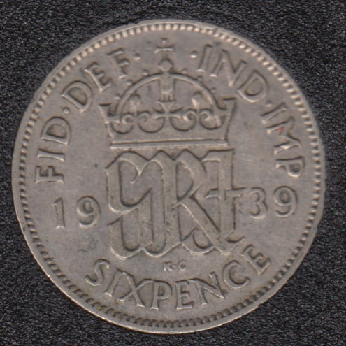 1939 - 6 Pence - Grande Bretagne