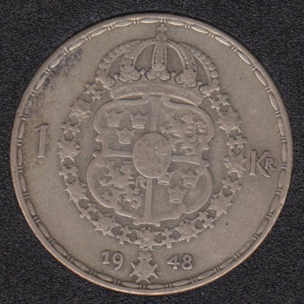 1948 TS - 1 Krona - Sweden