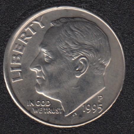 1995 P - Roosevelt - B.Unc - 10 Cents