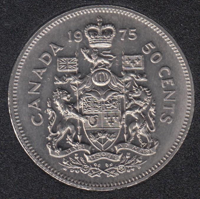 1975 - B.Unc - Canada 50 Cents