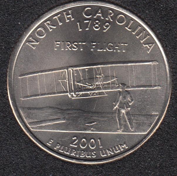 2001 P - North Carolina - 25 Cents