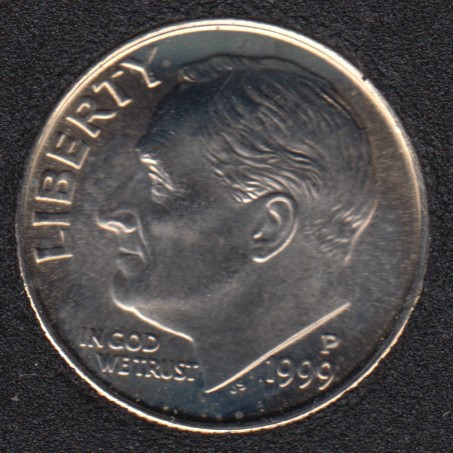 1999 P - Roosevelt - B.Unc - 10 Cents