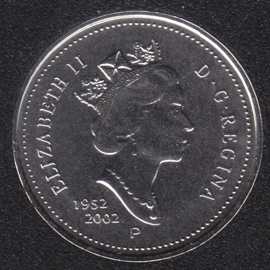 2002 - 1952 P - NBU - Canada 5 Cents