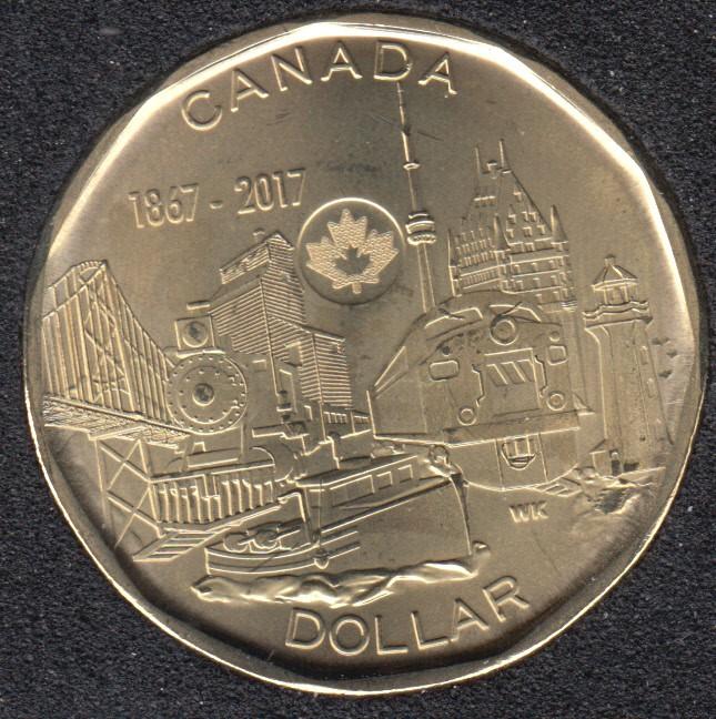 2017 - B.Unc - Le Lien d'une Nation - Canada Dollar