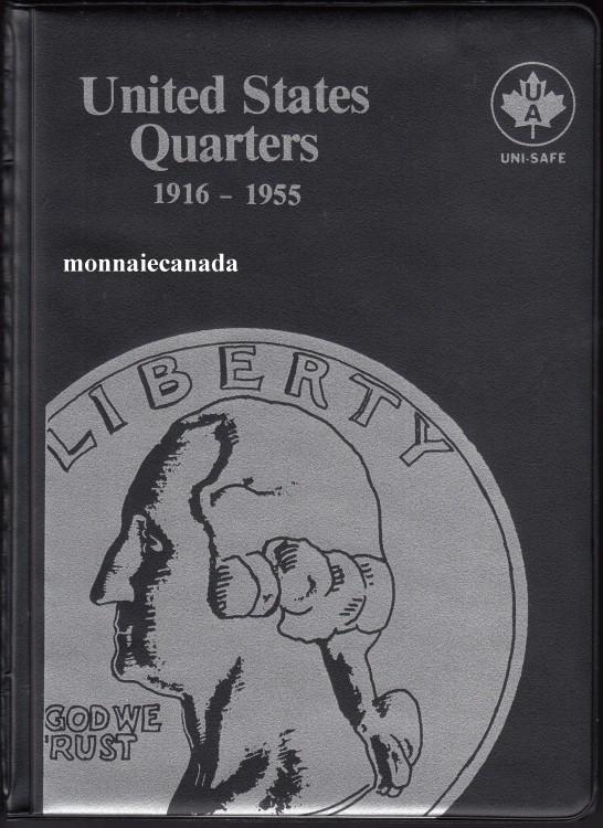 Album Americain pour 25 Cents - 1916-1955