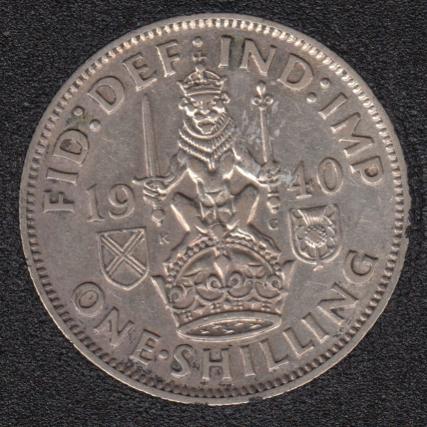 1940 - Shilling - Great Britain