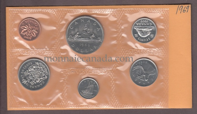 1969 PROOF LIKE SET
