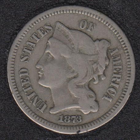 1873 - Nickel 3 Cents