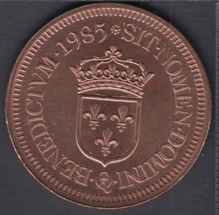 Quebec - Epicerie J.A. Moisan - 1985 - Valeur 30 Sous au Magasin