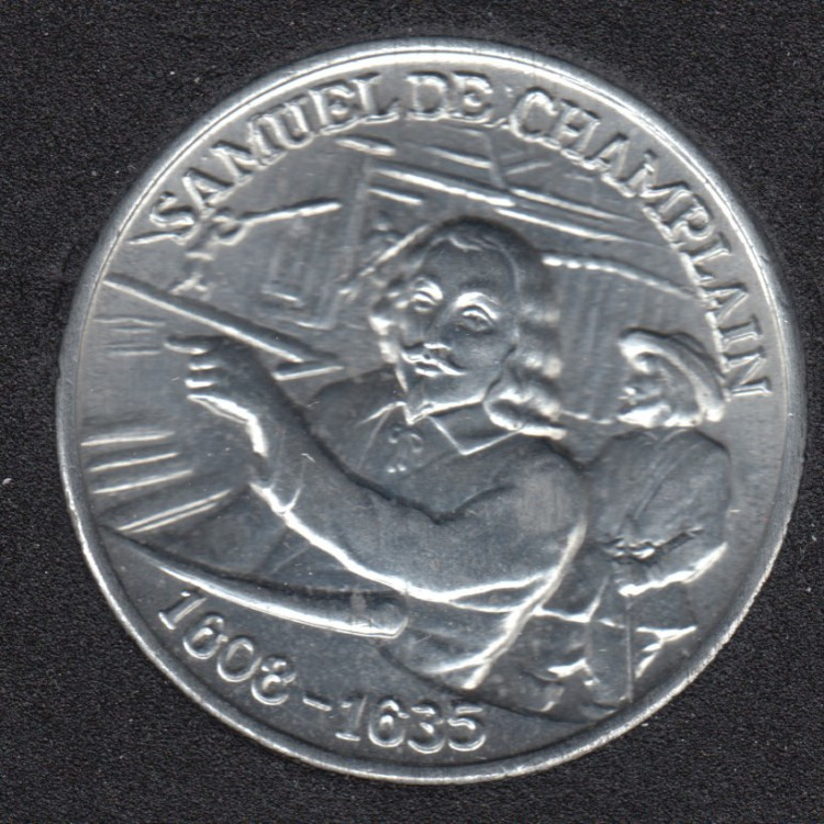1608 - 1635 - Samuel de Champlain