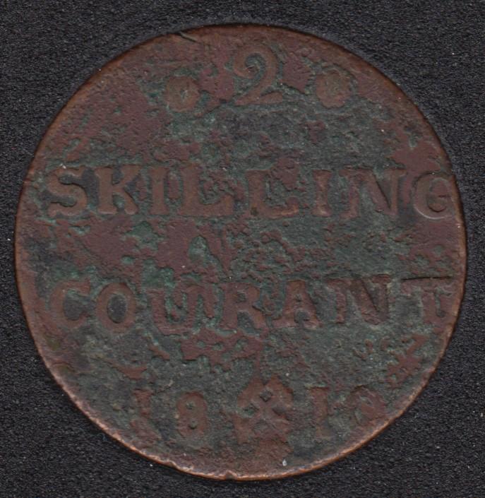1810 - 2 Skilling - Norway