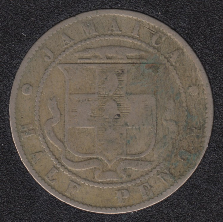 1899 - Half Penny - Jamaique