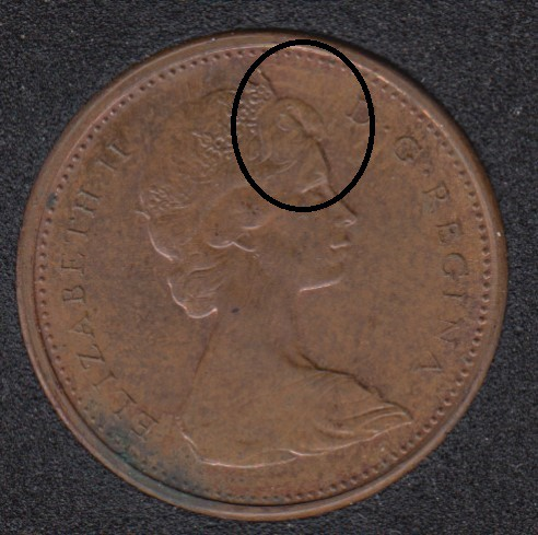 1965 - Double Head - Canada Cent