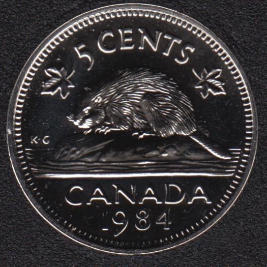 1984 - NBU - Canada 5 Cents