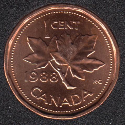 1988 - B.Unc - Canada Cent