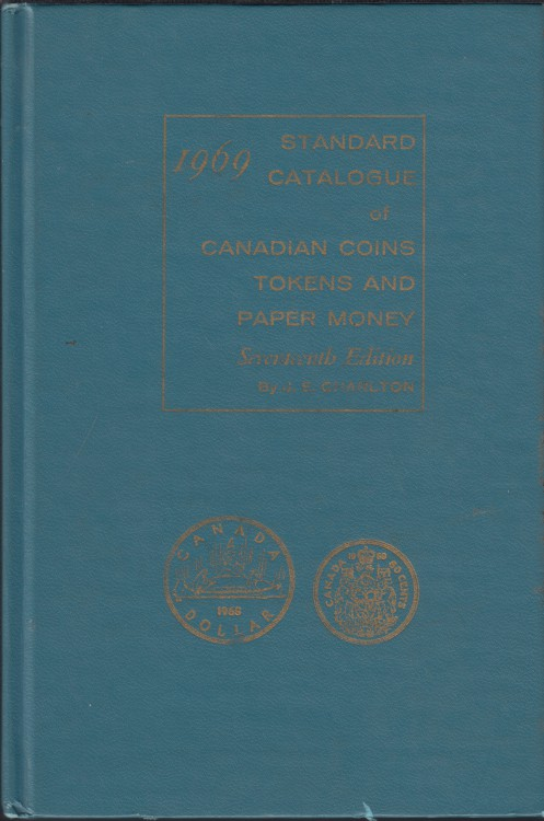 1969 - Charlton - Standard Catalogue of Coins Tokens and Paper Money - Usagé