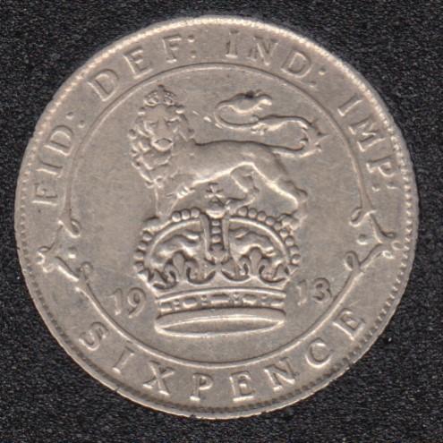 1913 - 6 Pence - Great Britain