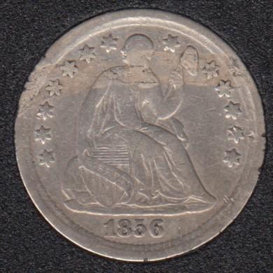1856 - Liberty Seated - Half Dime