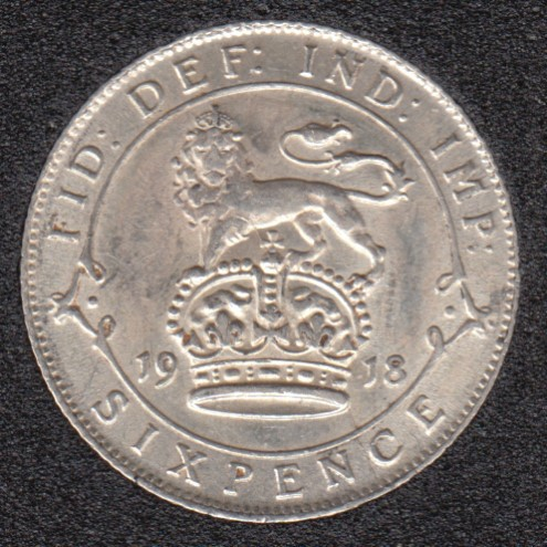 1918 - 6 Pence - AU - Great Britain