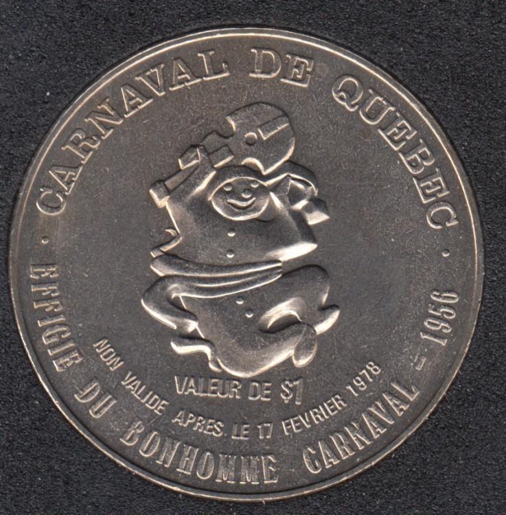 Quebec - 1978 Carnival of Quebec - 1956/Boat - Trade Dollar