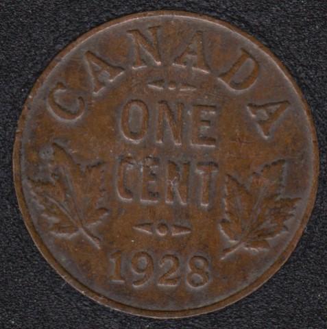 1928 - VF - Canada Cent
