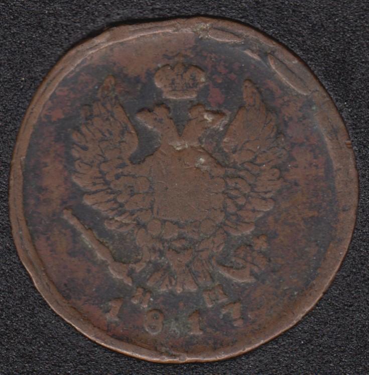 1817 - 2 Kopeks - Russie