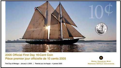 2005 P - 10 Cents - Premier Jour
