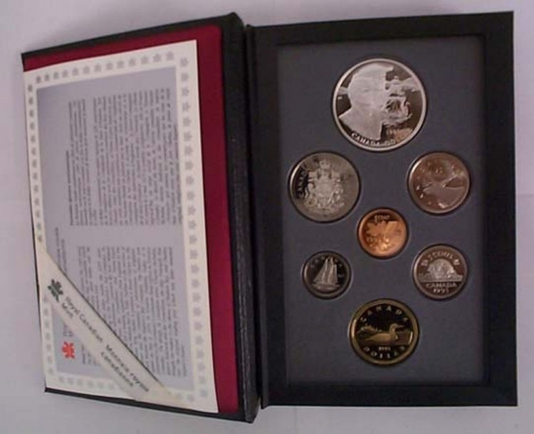 1995 CANADA DOUBLE DOLLAR PROOF SET