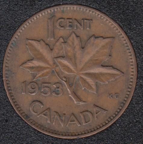 1953 - SF - Canada Cent