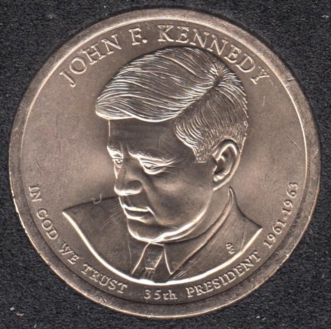 2015 D - J.F. Kennedy - 1$
