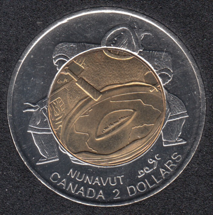 1999 - B.Unc - Nunavut - Canada 2 Dollars