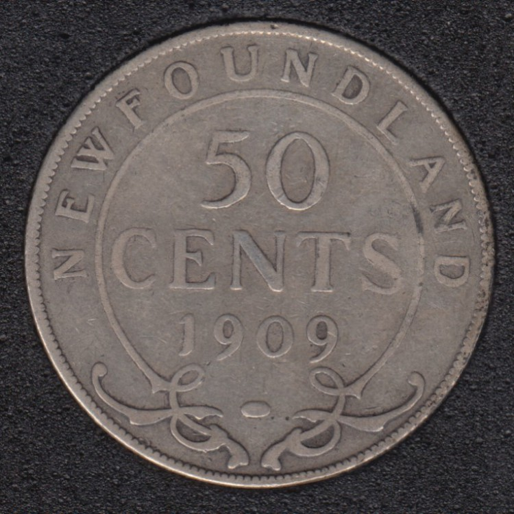 Terre Neuve - 1909 - 50 Cents