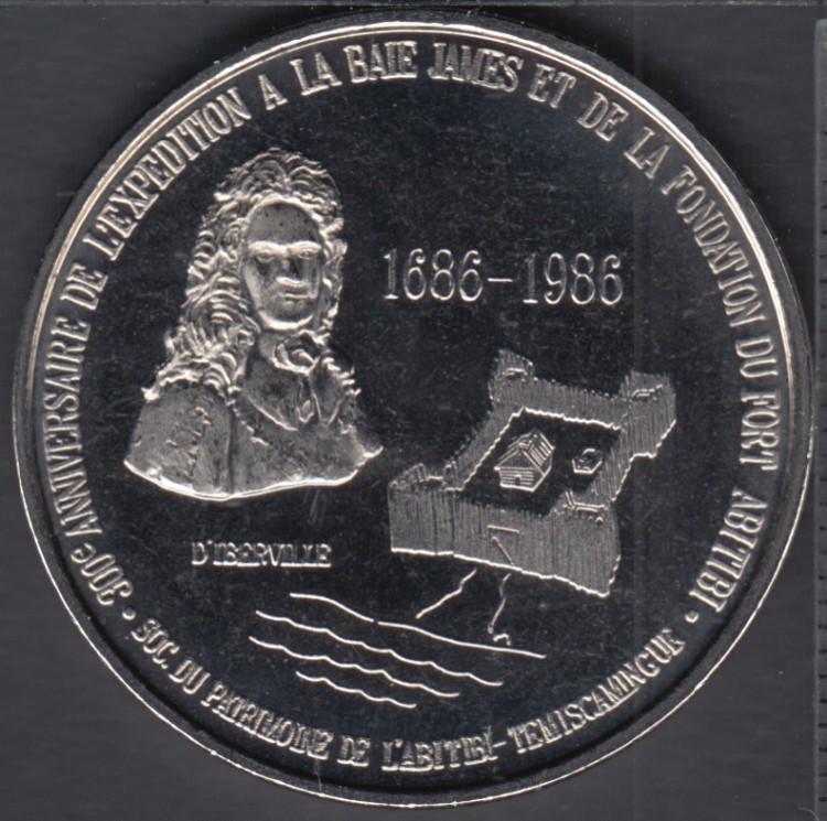 Nedelec - 1989 - Expédition Commémorative - $2 Trade Dollar