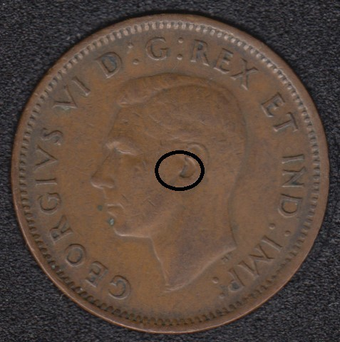 1945 - Earing Aid - Canada Cent