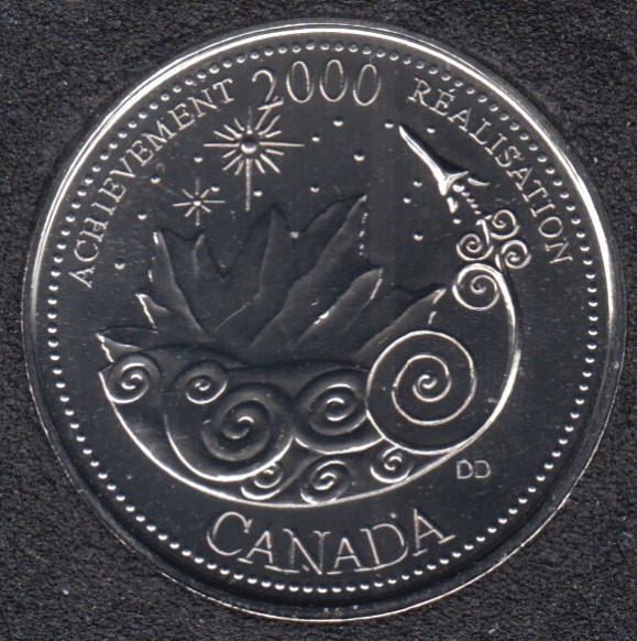 2000 - #3 NBU - Réalisation - Canada 25 Cents