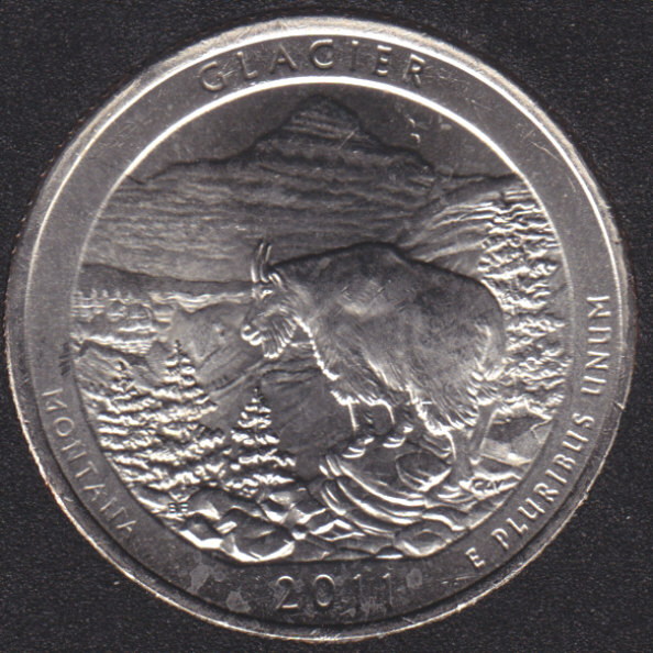 2011 P - Glacier - 25 Cents