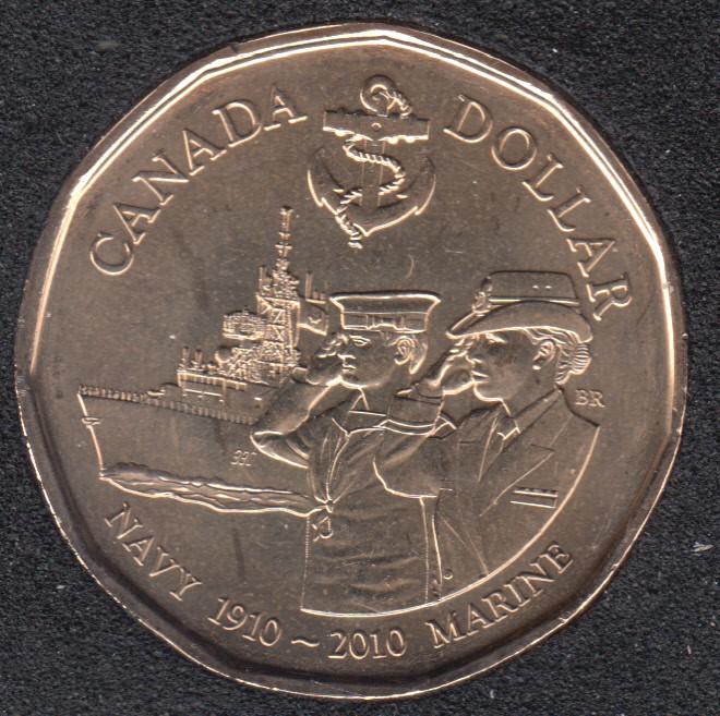 2010 - B.Unc - Navy Centennial - Canada Dollar